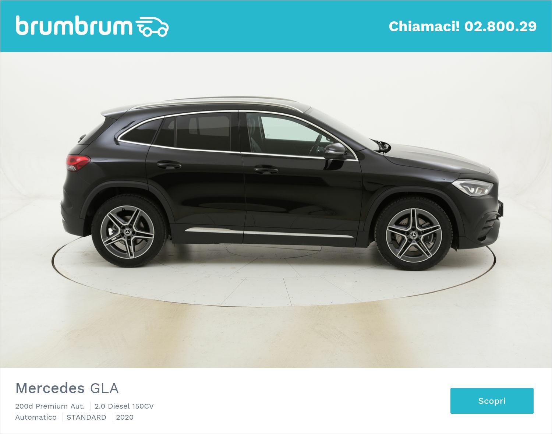 Mercedes GLA 200d Premium Aut. km 0 diesel nera | brumbrum