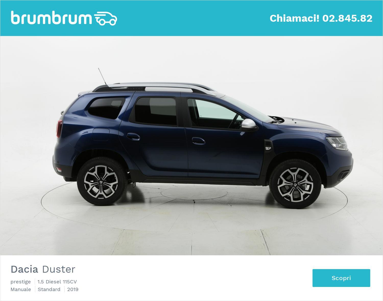 Dacia Duster prestige km 0 diesel blu | brumbrum