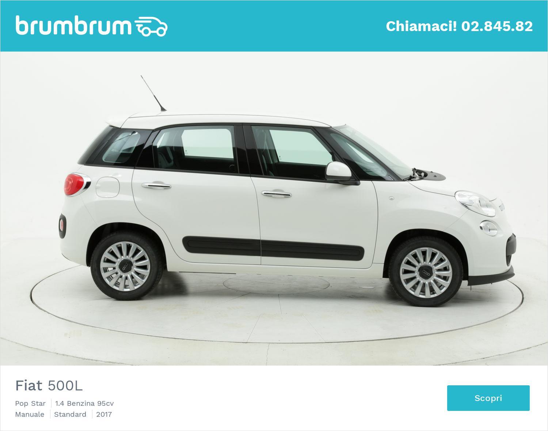 Fiat 500L Pop Star km 0 benzina bianca | brumbrum