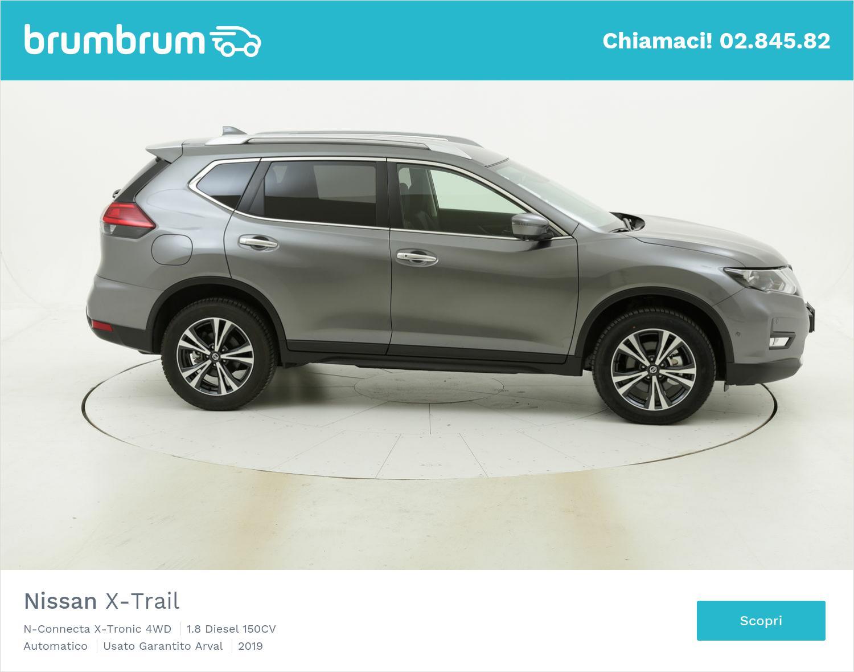 Nissan X-Trail N-Connecta X-Tronic 4WD km 0 diesel grigia   brumbrum