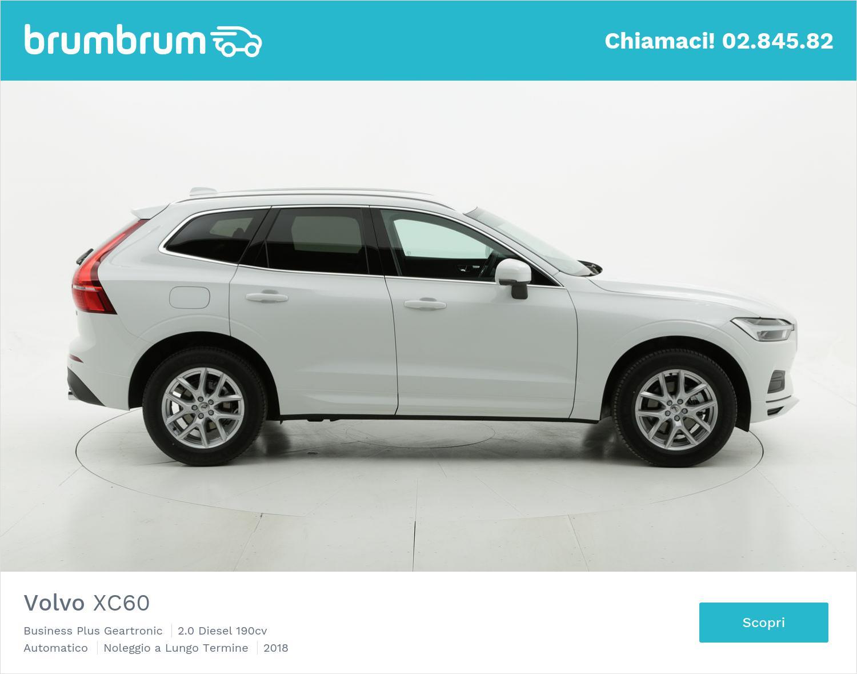 Volvo XC60 diesel bianca a noleggio a lungo termine | brumbrum
