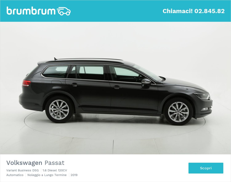 Volkswagen Passat diesel antracite a noleggio a lungo termine | brumbrum