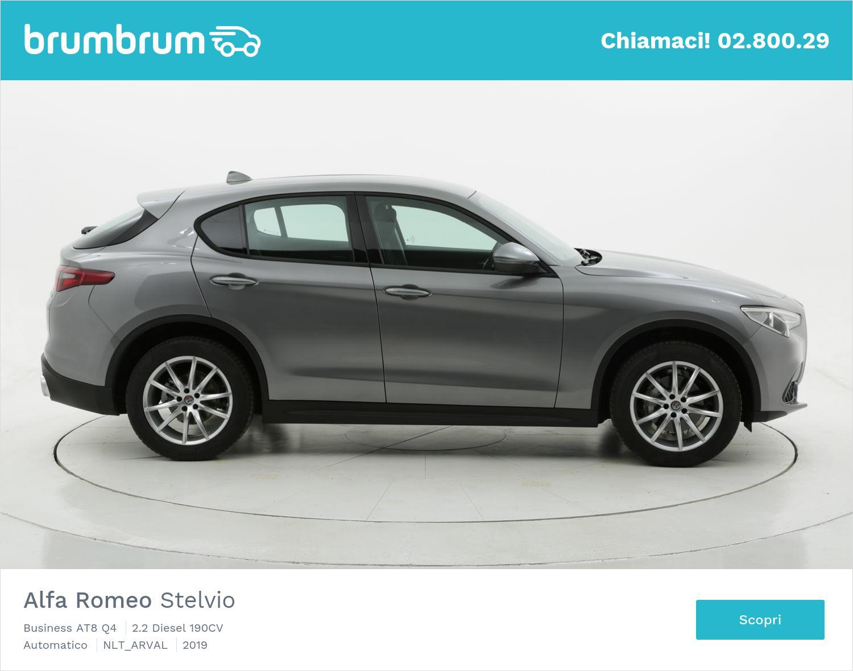 Alfa Romeo Stelvio 190 CV diesel a noleggio a lungo termine | brumbrum
