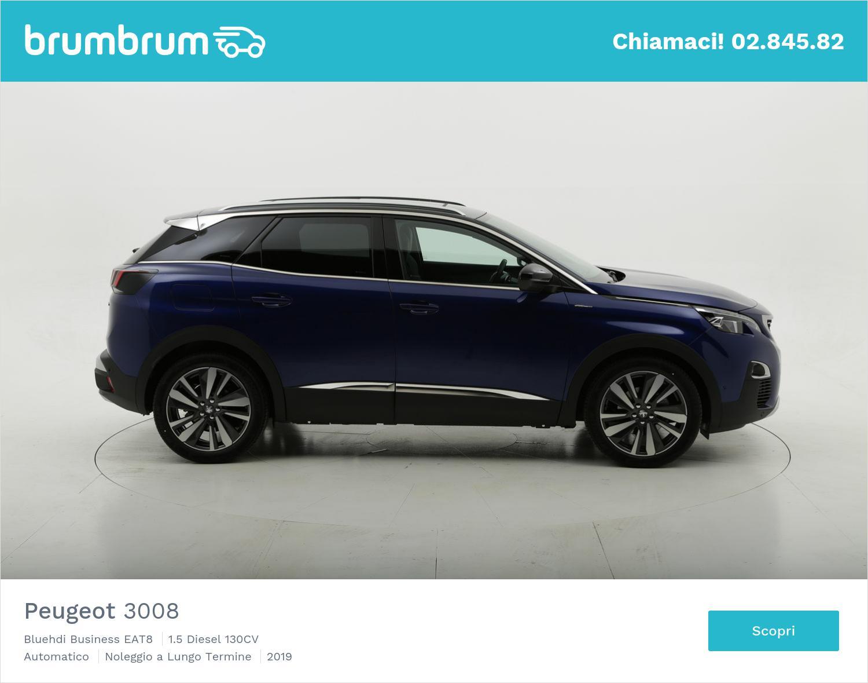 Peugeot 3008 Bluehdi Business EAT8 a noleggio a lungo termine | brumbrum