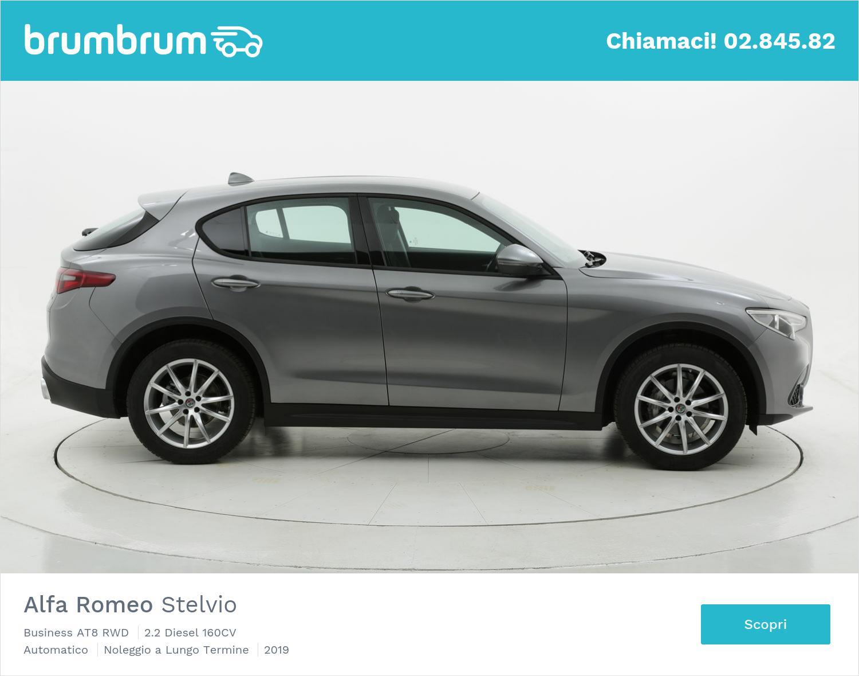 Alfa Romeo Stelvio 160 CV diesel a noleggio a lungo termine | brumbrum
