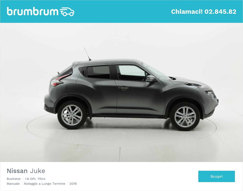 Nissan Juke gpl antracite a noleggio a lungo termine | brumbrum