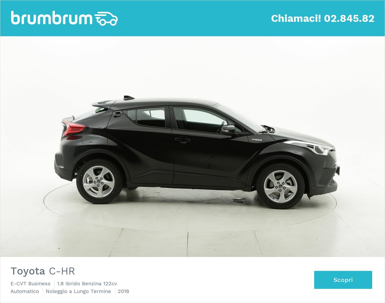 Toyota C-HR ibrido benzina nera a noleggio a lungo termine   brumbrum