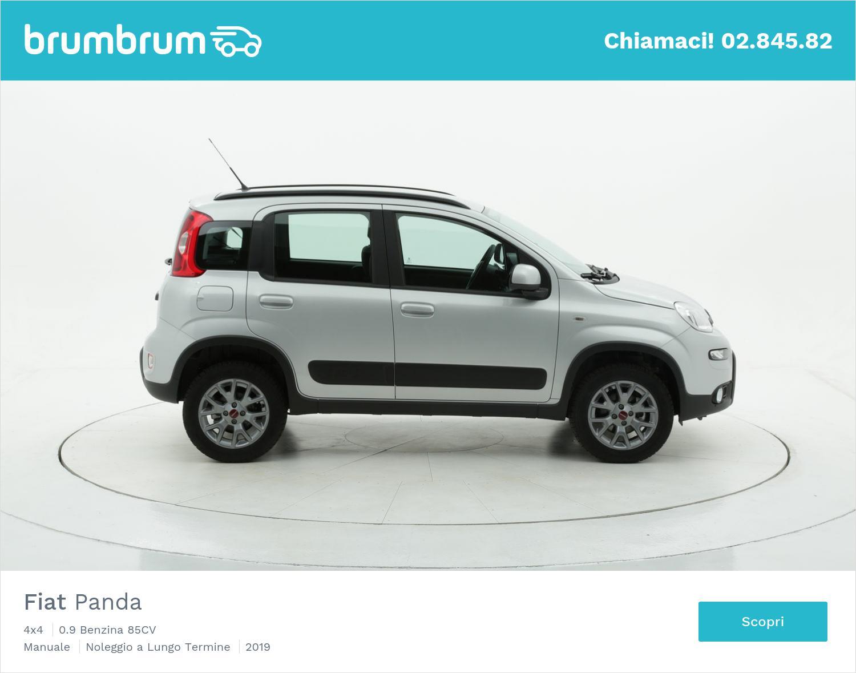 Fiat Panda 4X4 a noleggio a lungo termine | brumbrum