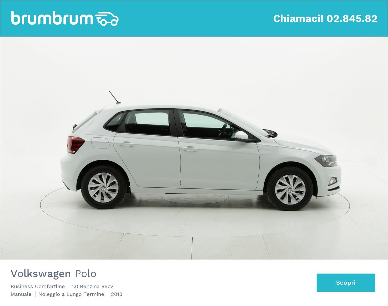 Volkswagen Polo benzina bianca a noleggio a lungo termine | brumbrum