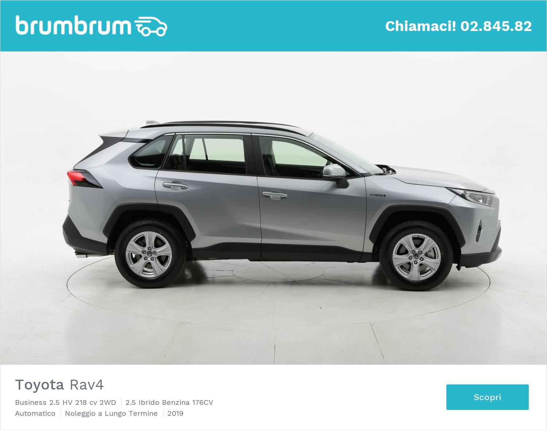 Toyota Rav4 ibrido benzina antracite a noleggio a lungo termine   brumbrum