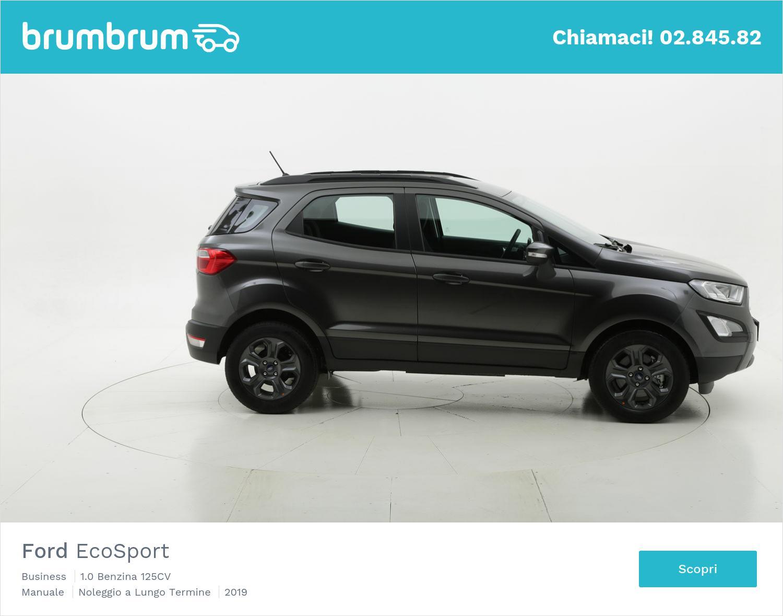 Ford EcoSport benzina grigia a noleggio a lungo termine | brumbrum