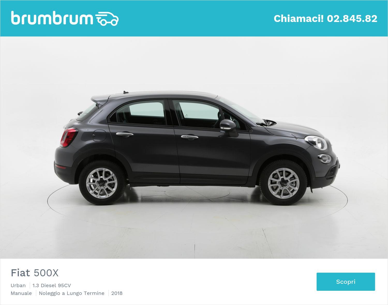 Fiat 500X Urban a noleggio lungo termine, diesel | brumbrum