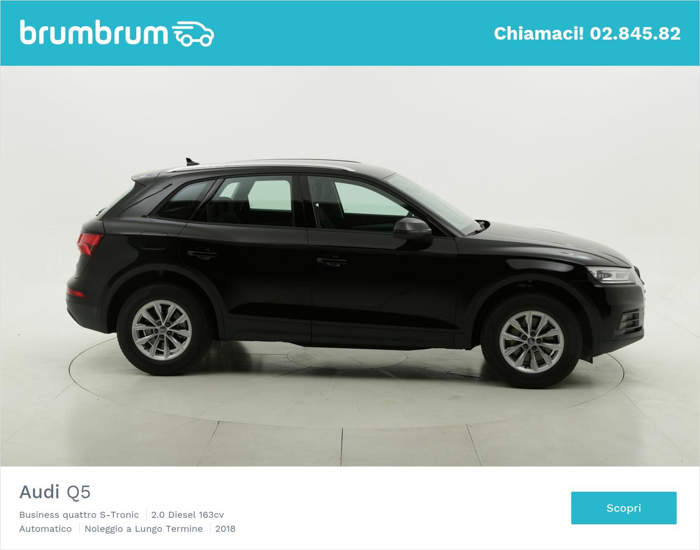 Audi Q5 diesel nera a noleggio a lungo termine | brumbrum