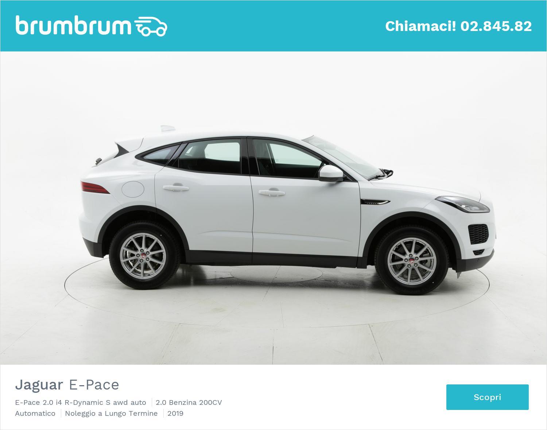 Jaguar E-Pace benzina bianca a noleggio a lungo termine | brumbrum