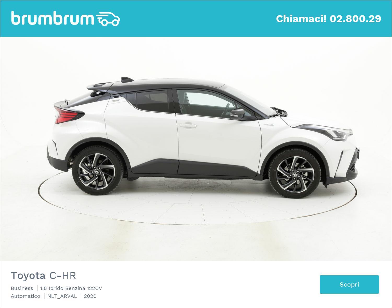 Toyota C-HR ibrida a noleggio a lungo termine | brumbrum
