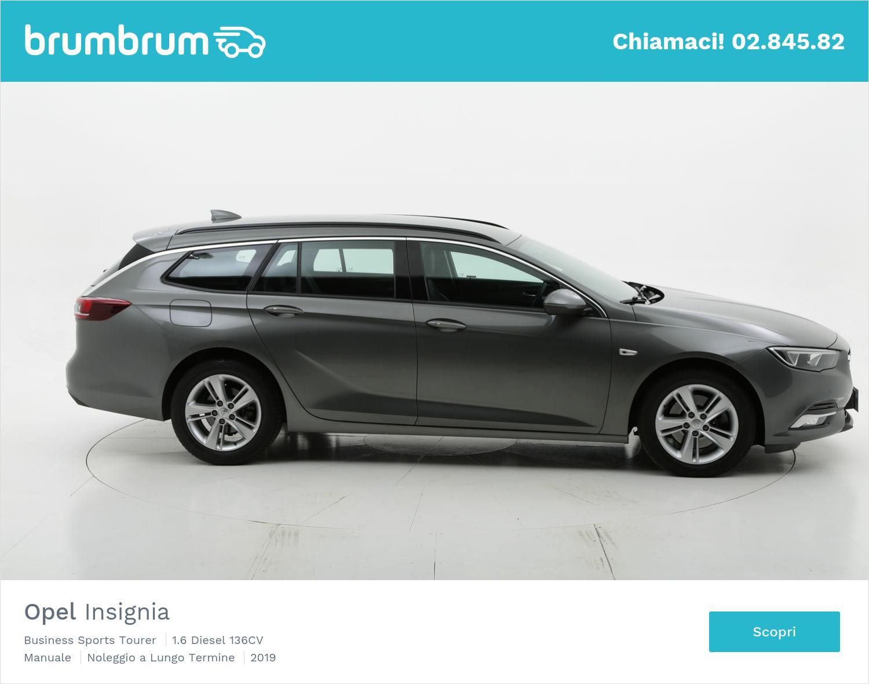 Opel Insignia diesel antracite a noleggio a lungo termine | brumbrum