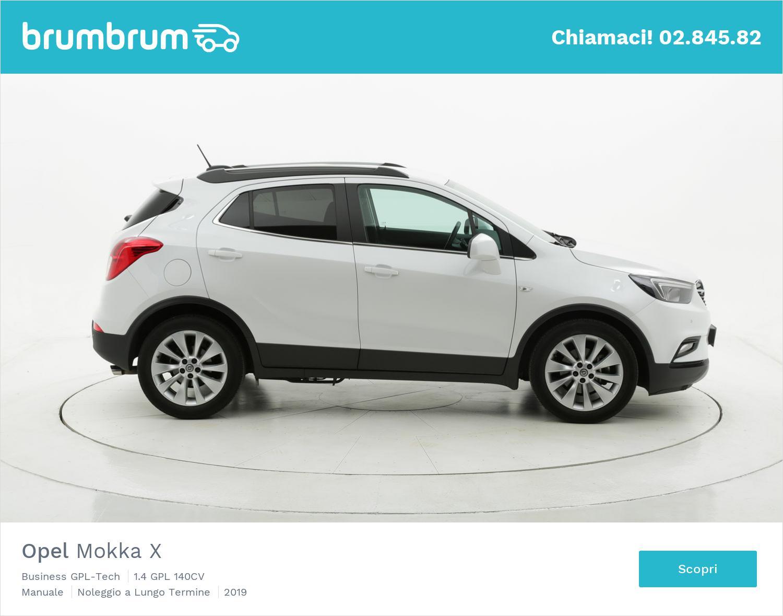 Opel Mokka X gpl bianca a noleggio a lungo termine | brumbrum