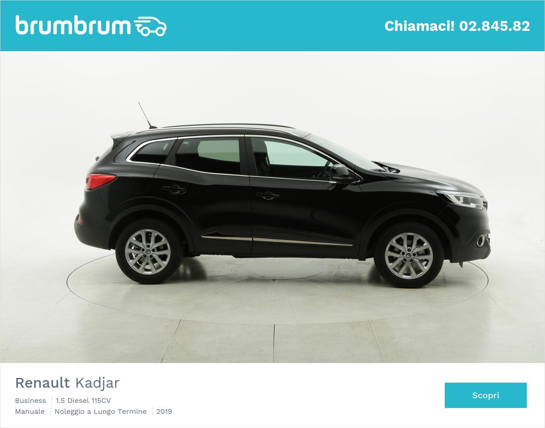 Renault Kadjar diesel nera a noleggio a lungo termine | brumbrum