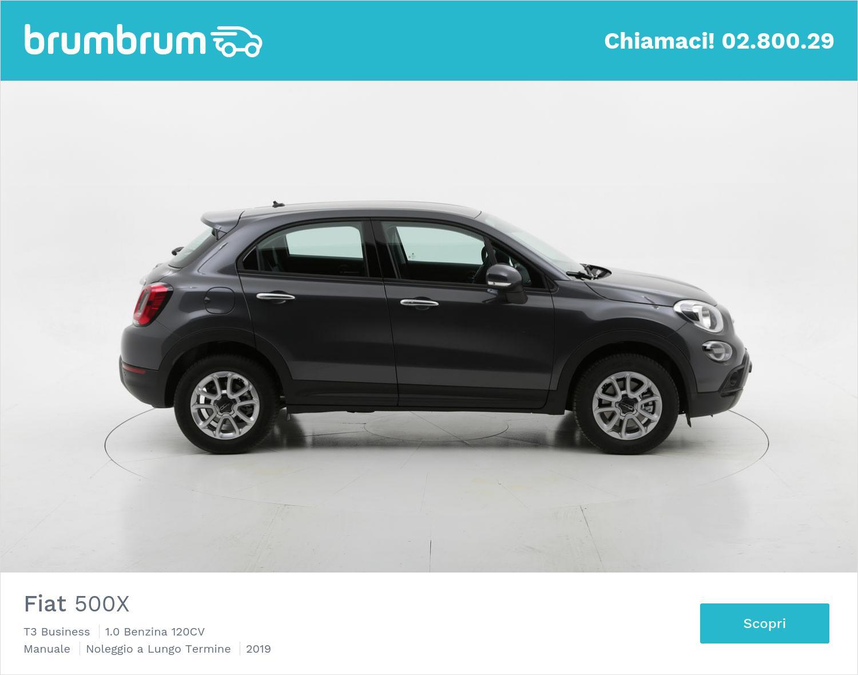 Fiat 500X T3 Business benzina antracite a noleggio a lungo termine | brumbrum