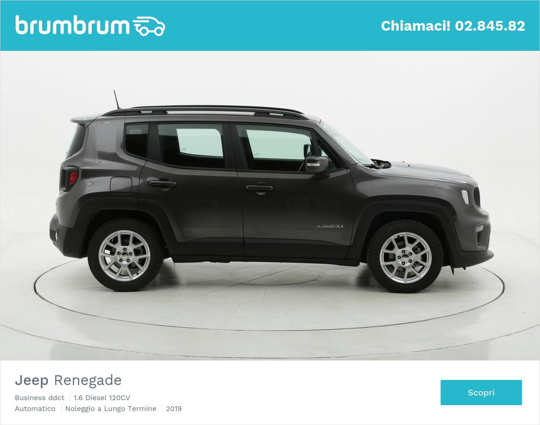 Noleggio lungo termine Jeep Renegade Business DDCT| brumbrum