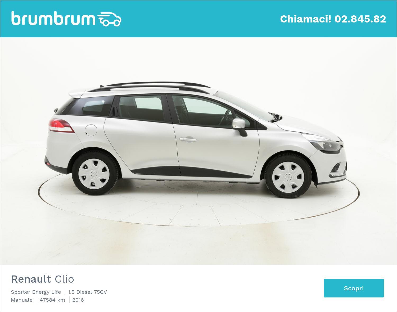 Renault Clio usata del 2016 con 47.604 km   brumbrum