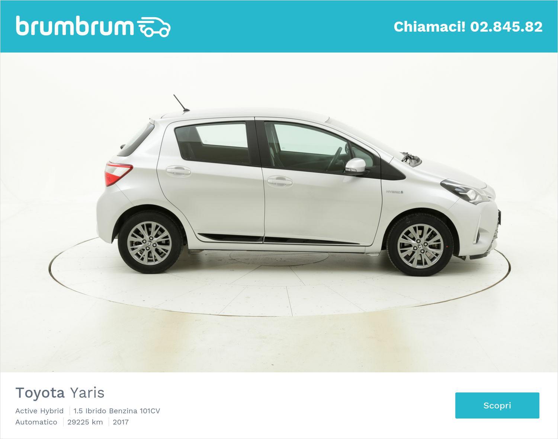 Toyota Yaris usata del 2017 con 29.237 km | brumbrum