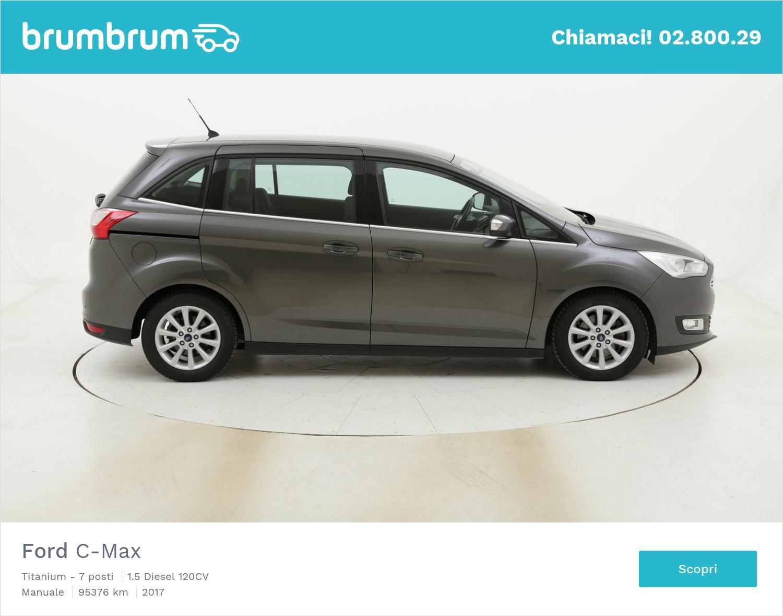 Ford C-Max Titanium - 7 posti usata del 2017 con 95.393 km | brumbrum