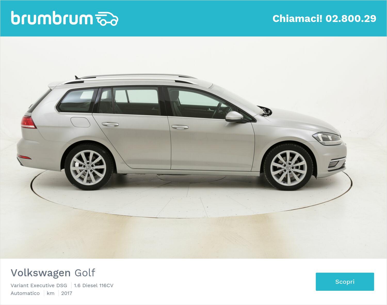 Volkswagen Golf Variant Executive DSG usata del 2017 con 56.219 km | brumbrum