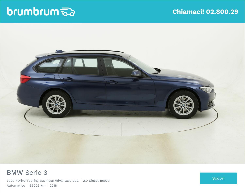 BMW Serie 3 320d xDrive Touring Business Advantage aut. usata del 2018 con 86.255 km | brumbrum