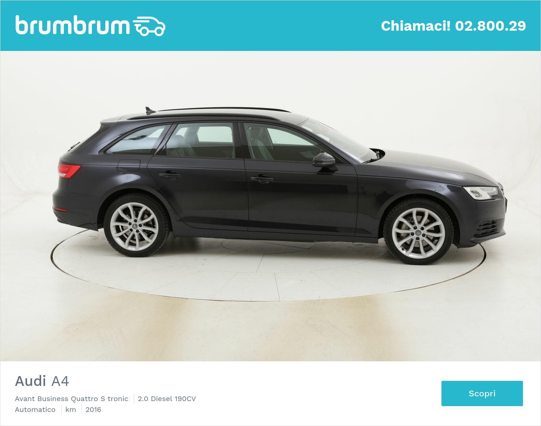 Audi A4 Avant Business Quattro S tronic usata del 2016 con 79.437 km | brumbrum
