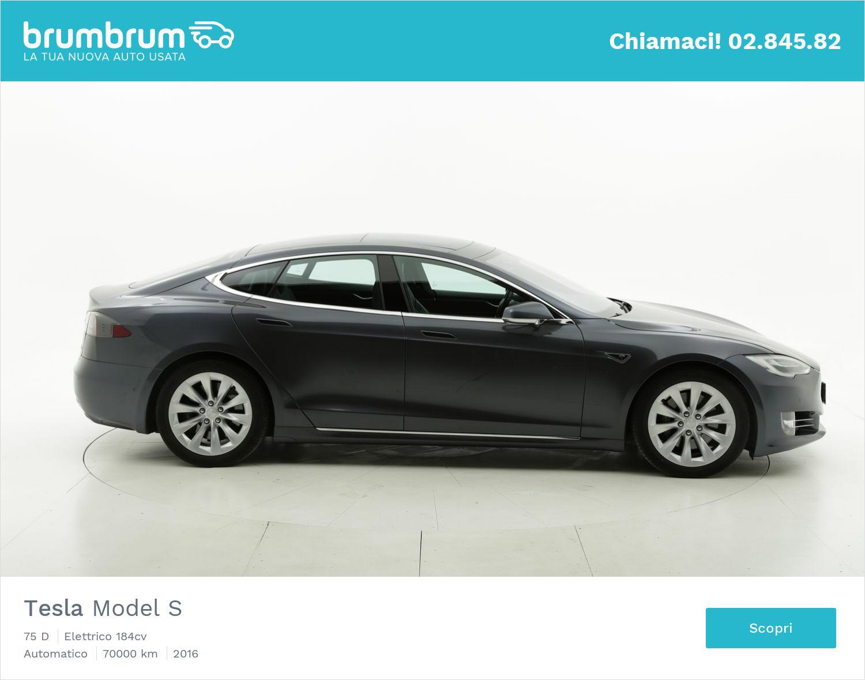 Tesla Model S usata del 2016 con 67.714 km | brumbrum