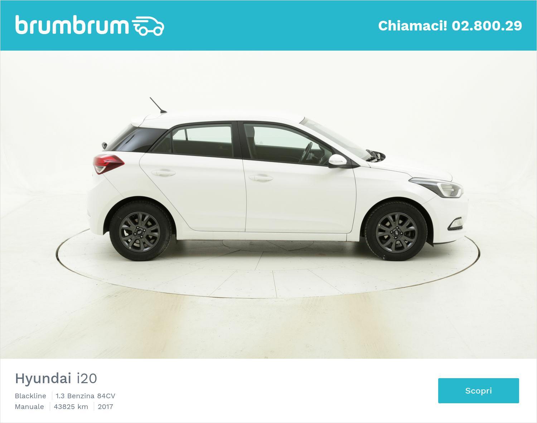 Hyundai I20 Blackline usata del 2017 con 43.845 km | brumbrum