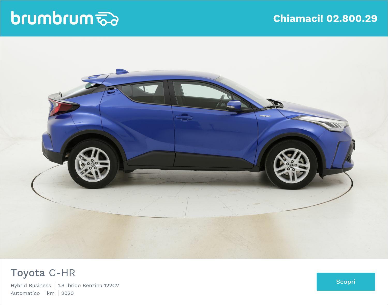 Toyota C-HR Hybrid Business usata del 2020 con 9.664 km   brumbrum