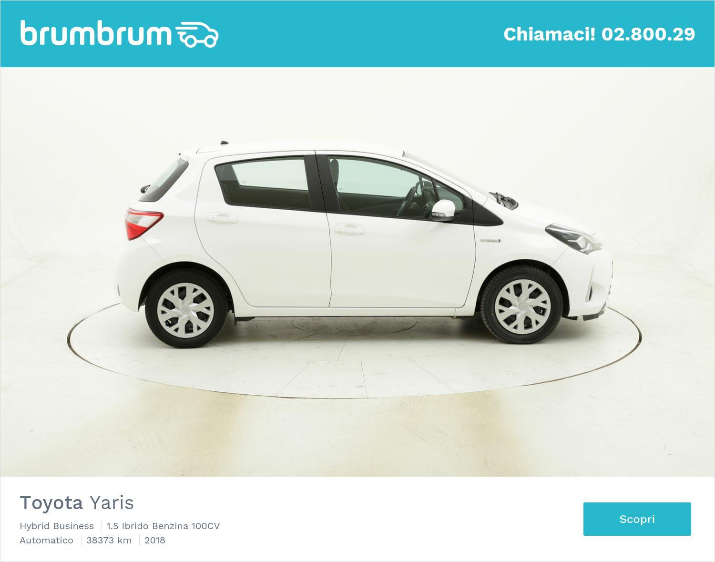 Toyota Yaris Hybrid Business usata del 2018 con 38.720 km | brumbrum