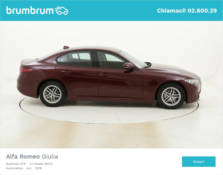 Alfa Romeo Giulia Business AT8 usata del 2018 con 124.283 km | brumbrum