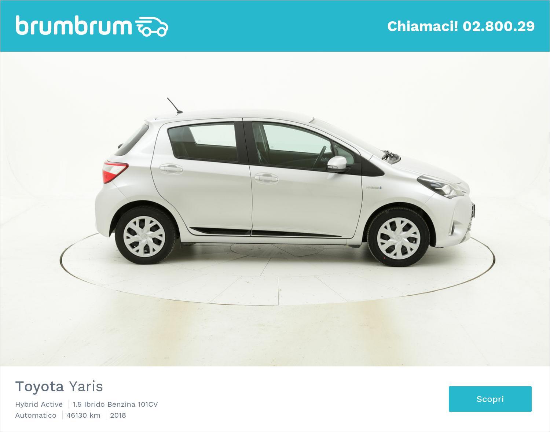 Toyota Yaris usata del 2018 con 46.397 km | brumbrum