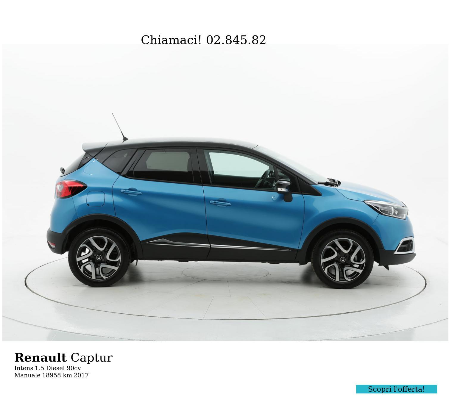 Renault Captur usata del 2017 con 18.972 km | brumbrum