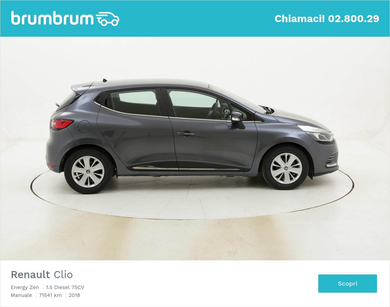 Renault Clio Energy Zen usata del 2018 con 71.660 km | brumbrum