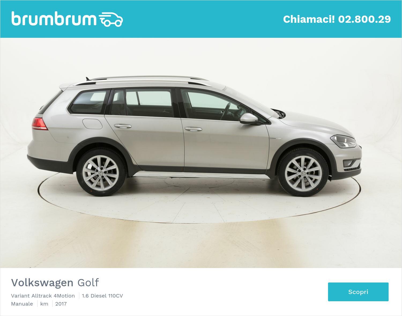 Volkswagen Golf Variant Alltrack 4Motion usata del 2017 con 55.977 km | brumbrum