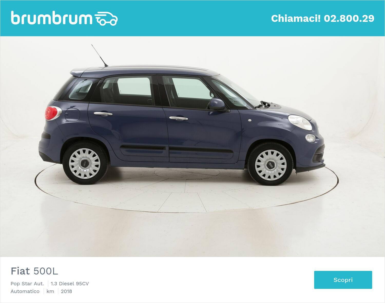 Fiat 500L Pop Star Aut. usata del 2018 con 72.159 km | brumbrum