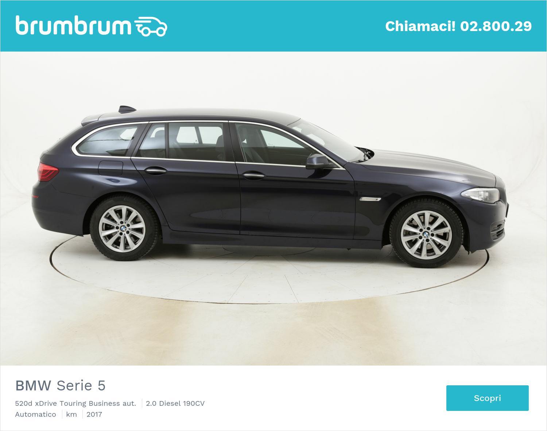 BMW Serie 5 520d xDrive Touring Business aut. usata del 2017 con 107.632 km | brumbrum