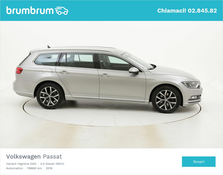 Volkswagen Passat usata del 2016 con 118.888 km | brumbrum