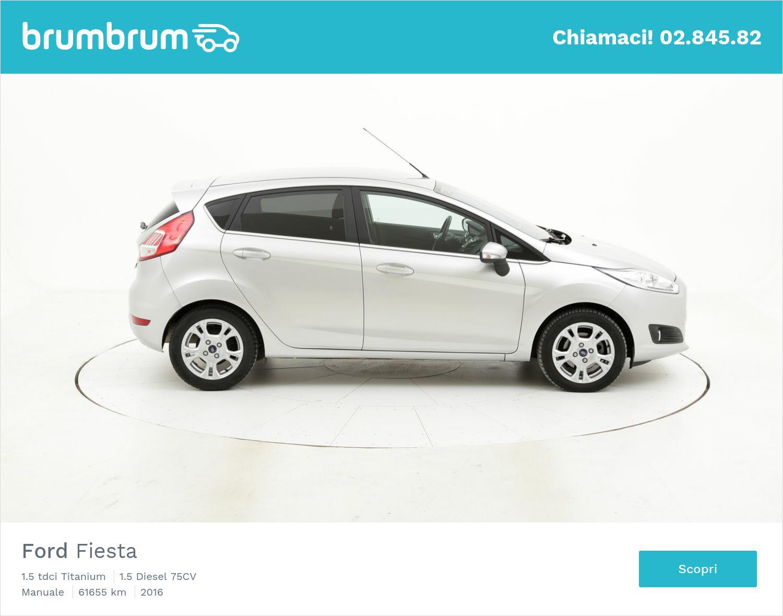 Ford Fiesta usata del 2016 con 61.840 km | brumbrum