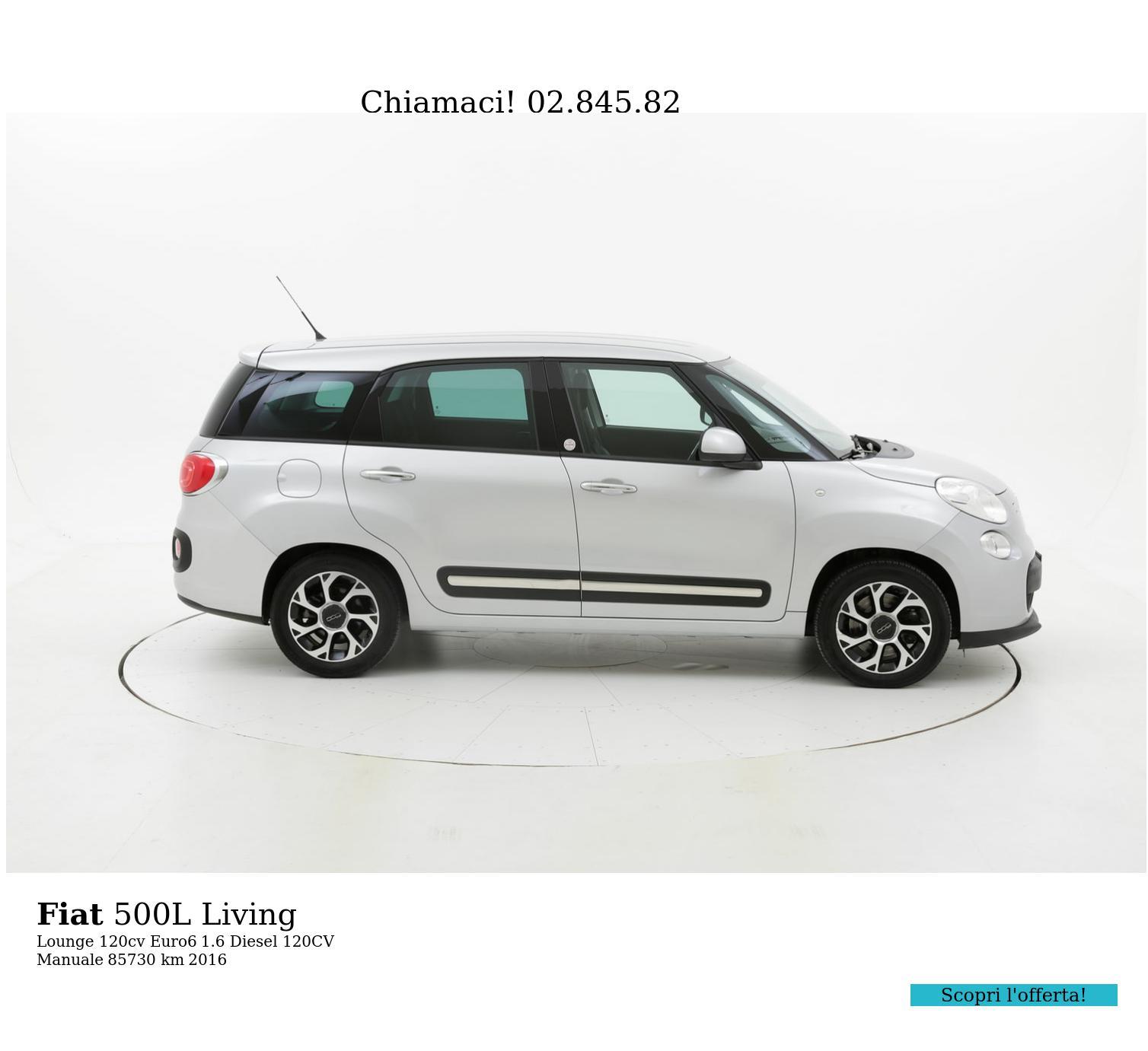 Fiat 500L usata del 2016 con 85.774 km | brumbrum