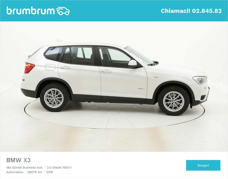 BMW X3 usata del 2016 con 38.090 km | brumbrum