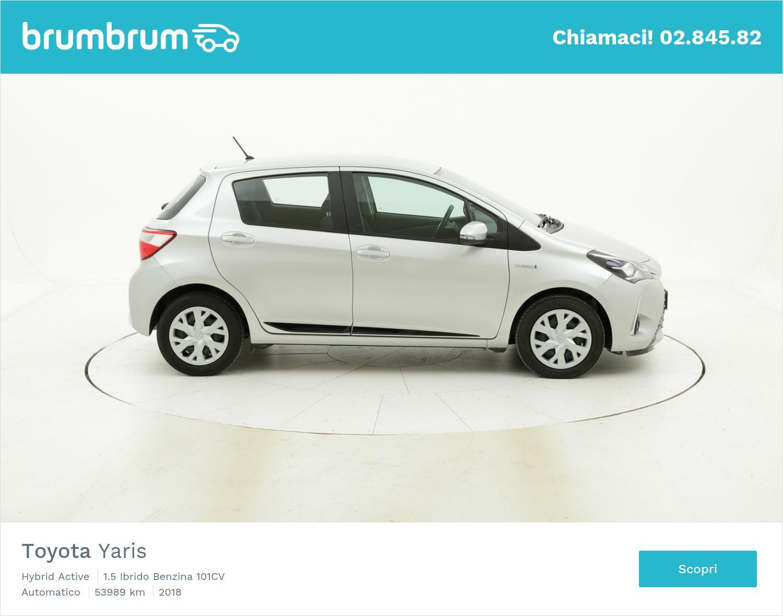 Toyota Yaris usata del 2018 con 53.893 km   brumbrum