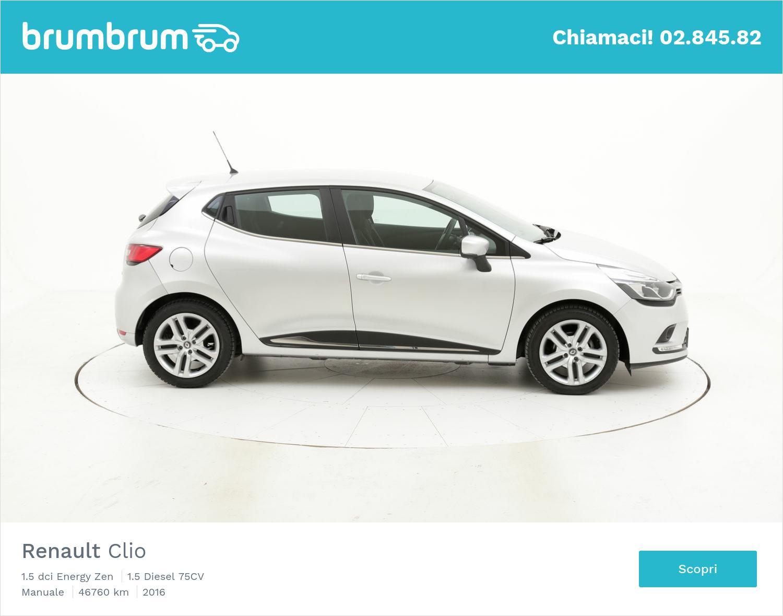 Renault Clio usata del 2016 con 46.868 km | brumbrum