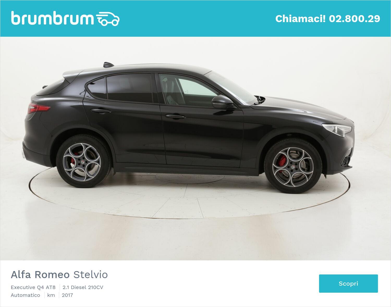 Alfa Romeo Stelvio Executive Q4 AT8 usata del 2017 con 99.239 km   brumbrum