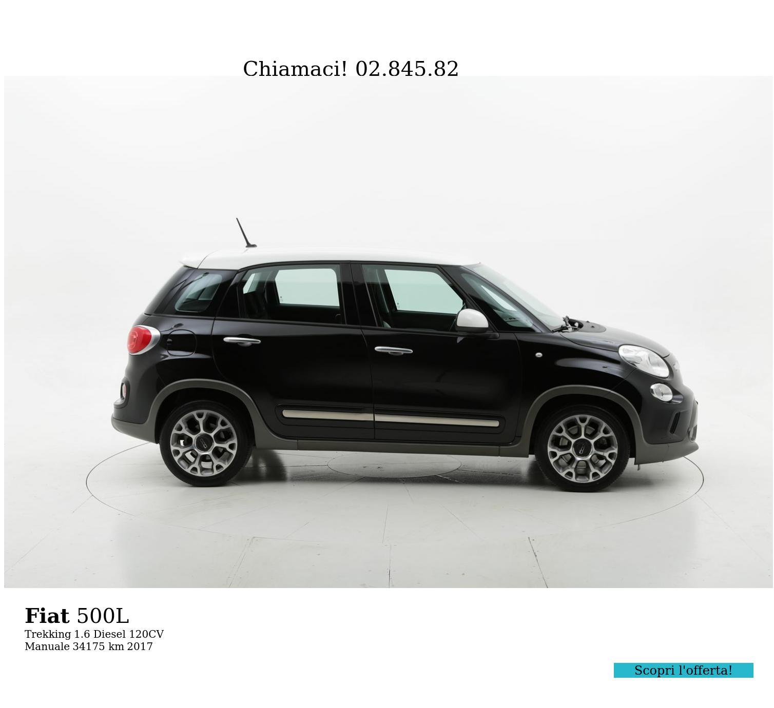 Fiat 500L usata del 2017 con 35.954 km | brumbrum