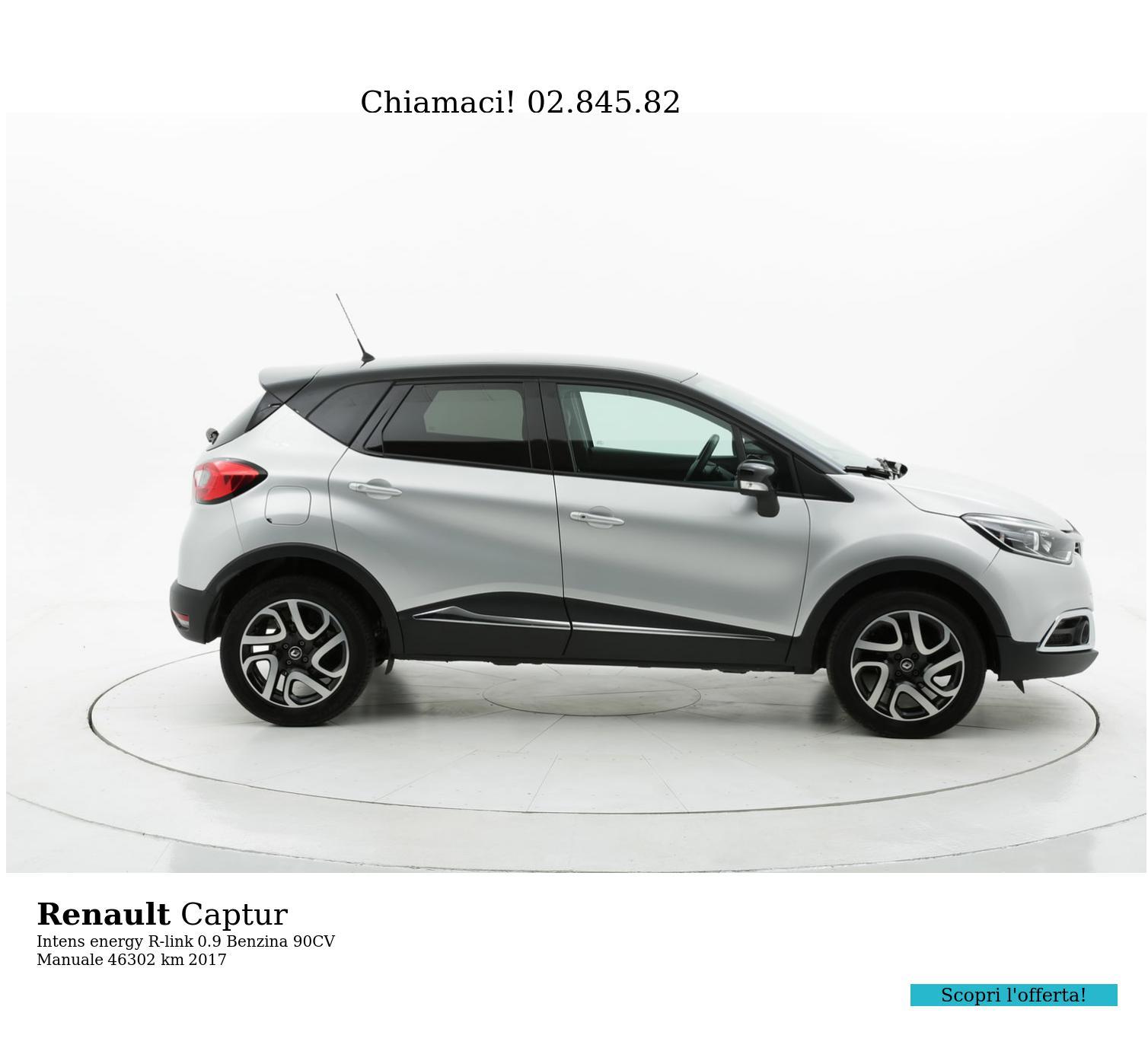 Renault Captur usata del 2017 con 46.312 km | brumbrum